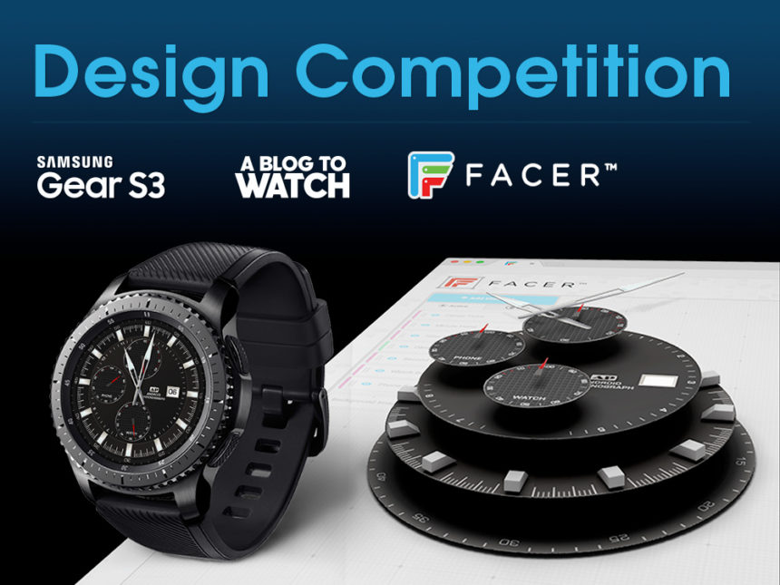 DESIGN COMPETITION FOR PRIZES: Animated Smartwatch Dials For The Samsung Gear S3