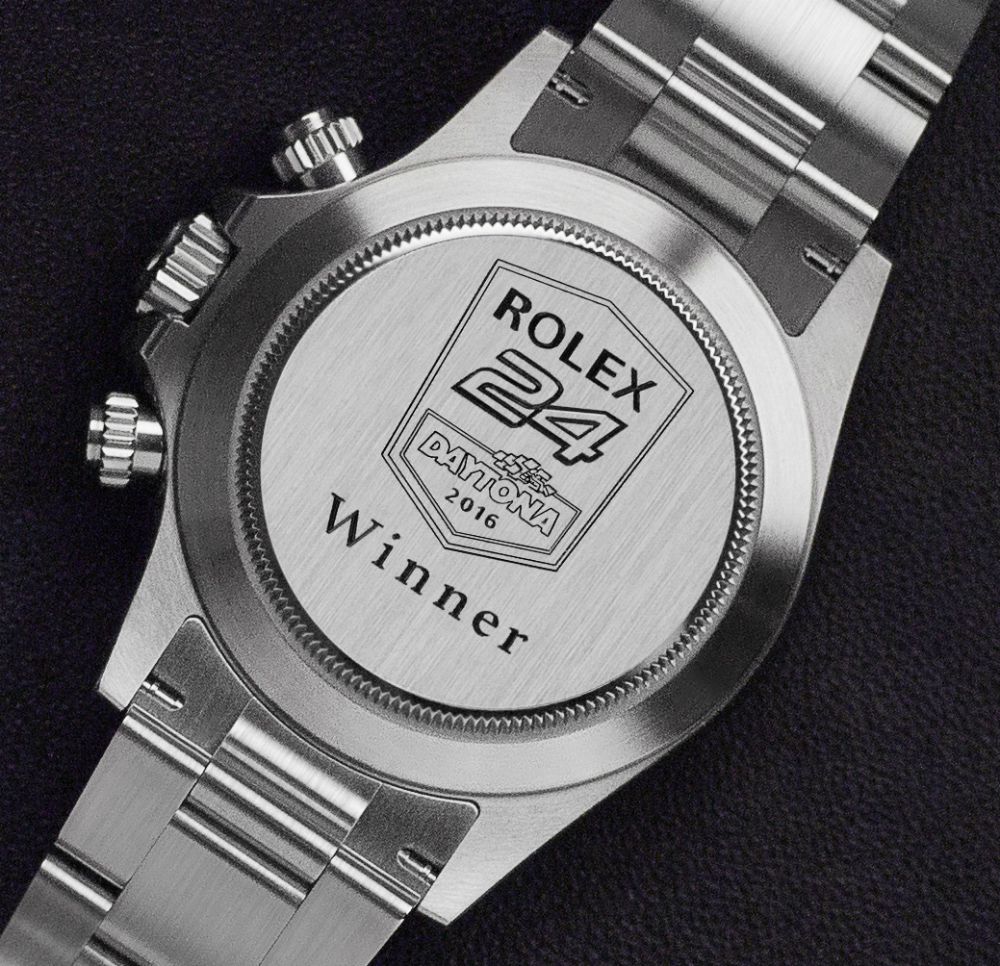 The Rolex Daytona Watch Given To Winner Of 2017 Rolex 24