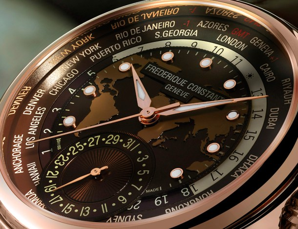 Frederique Constant Classic Worldtimer Manufacture Watch Watch Releases