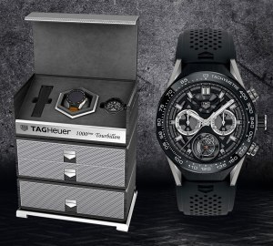 TAG Heuer Marks 1,000th COSC-Certified Tourbillon Movement With eBay Auction Including New Modular Smartwatch Sales & Auctions