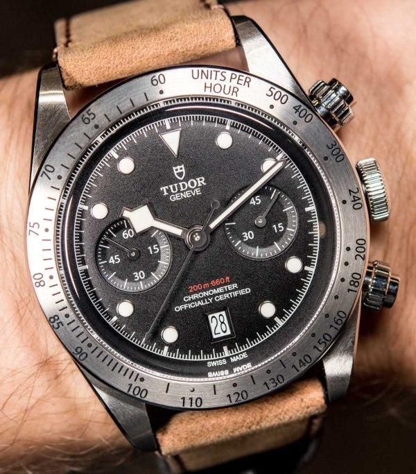 Tudor Heritage Black Bay Chronograph Watch Hands-On ...
