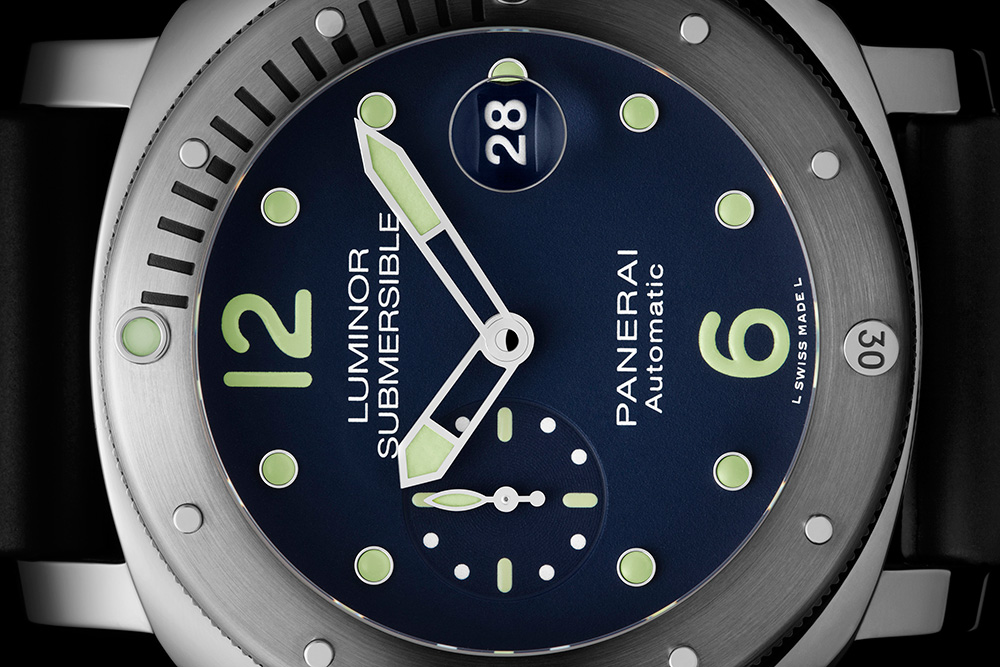 Panerai Luminor Submersible Automatic Acciaio PAM731 'E-Commerce Micro-Edition' Watch Watch Releases