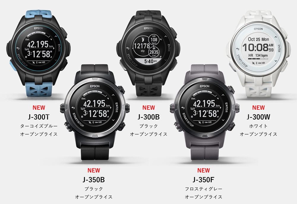 Seiko Will Soon Unveil The Fitness-Themed J-300 Series GPS