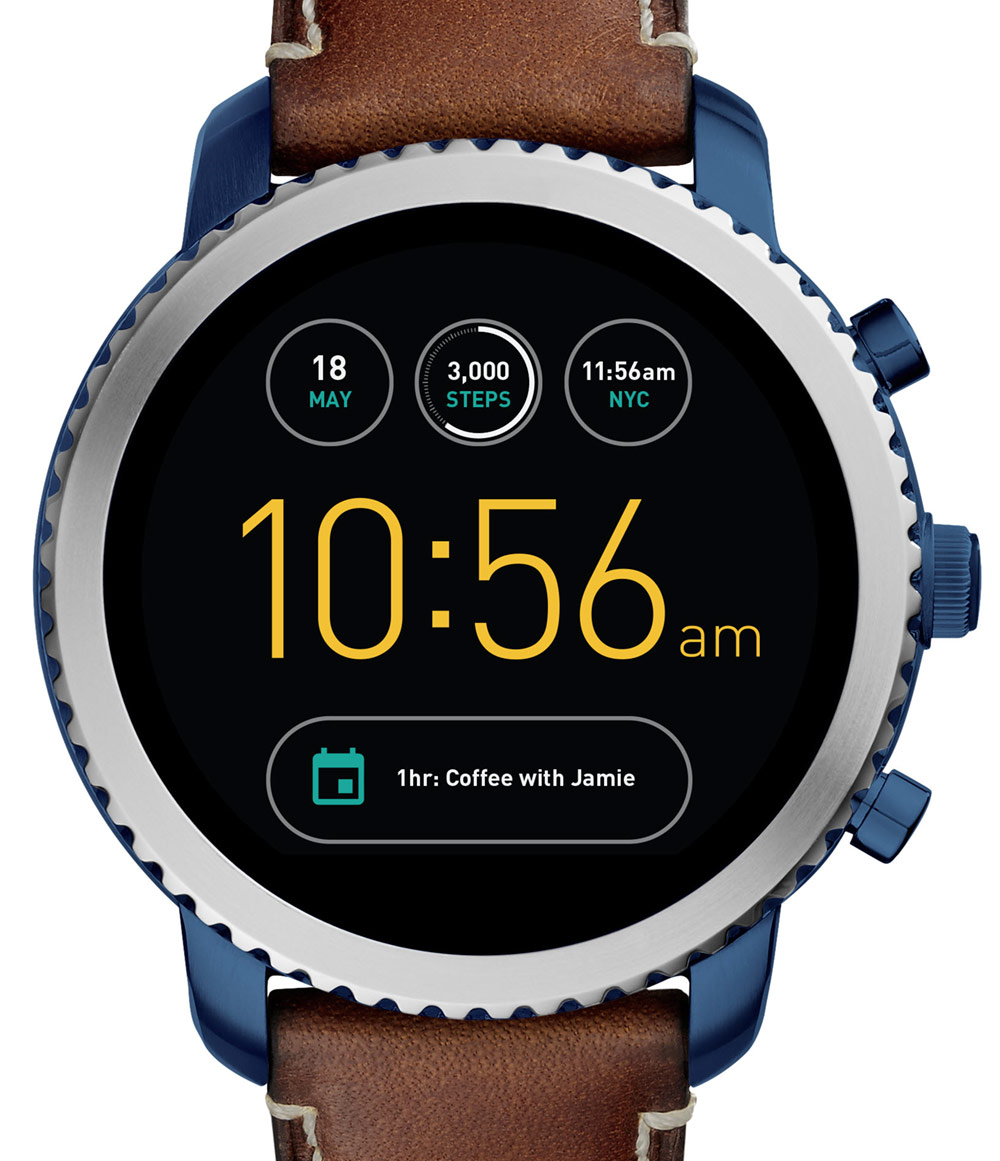 Fossil Q Explorist Venture Smart Watches Ablogtowatch Marshal Watch Releases
