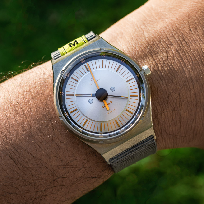 Autodromo Group B Silver/Yellow Watch Review Wrist Time Reviews