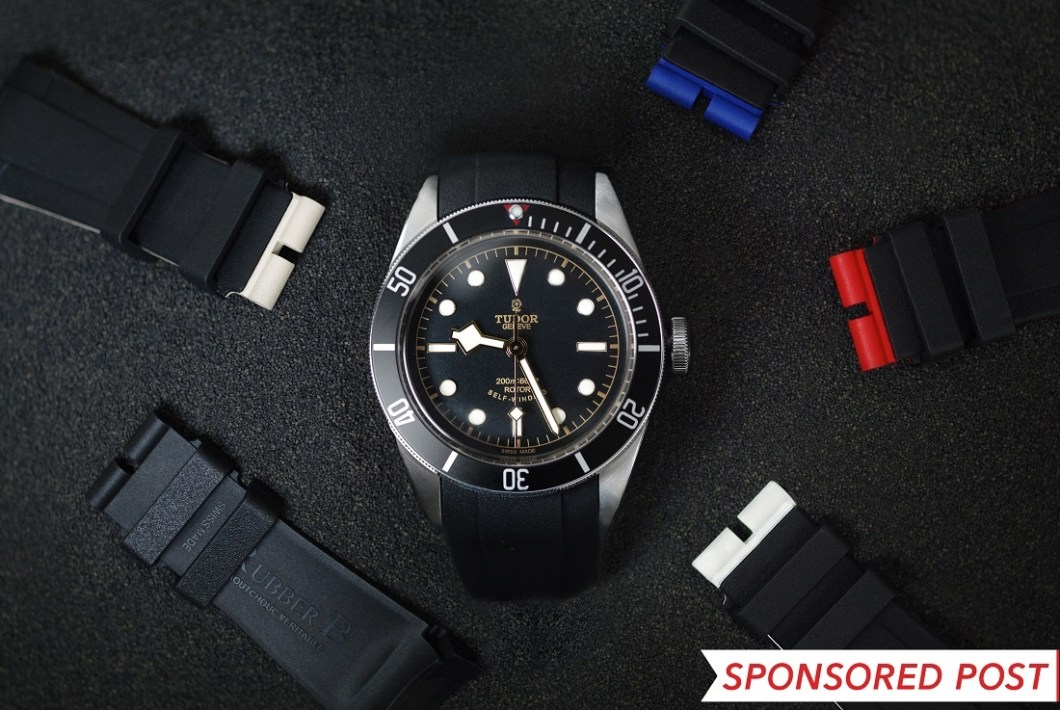 Rubber B Watch Straps For The Tudor Black Bay Luxury Items