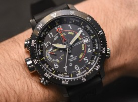 Citizen Promaster Altichron Watch Updated For 2017 Hands-On Hands-On