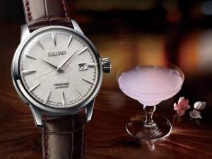 Seiko Presage Sakura Hubuki & Starlight 'Cocktail Time' Watches Watch Releases