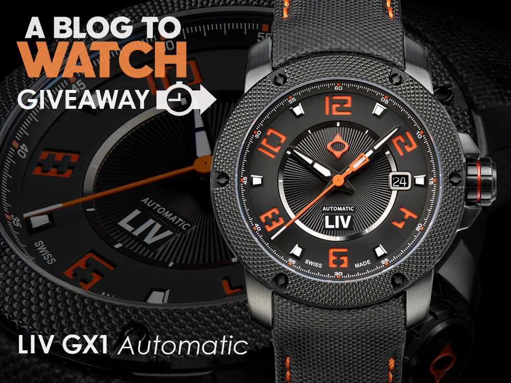 WATCH GIVEAWAY: LIV GX1 Automatic Giveaways