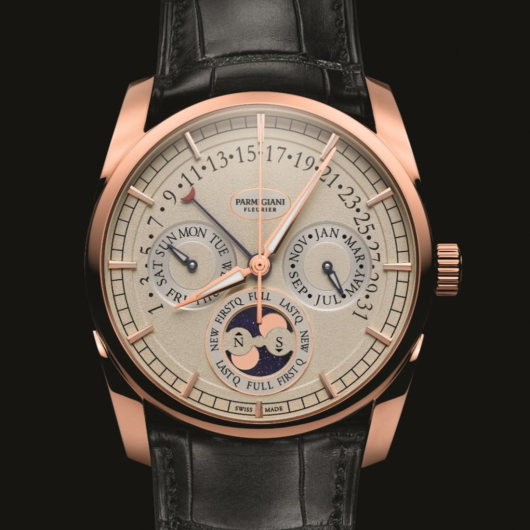 Parmigiani tonda 1950 annual calendar watch ablogtowatch for Calendar watches