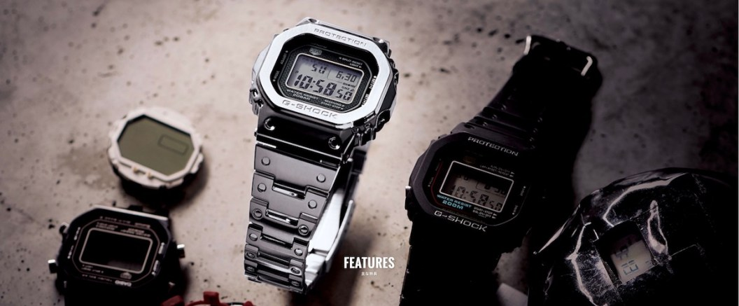 Casio G-Shock GMW-B 5000 D-1 Brings 'Full Metal' To The 5000-Series Casio Mens Watches Watch Releases