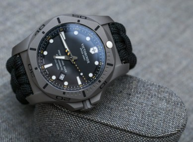Victorinox Swiss Army INOX Professional Diver Titanium Watches Hands-On Hands-On