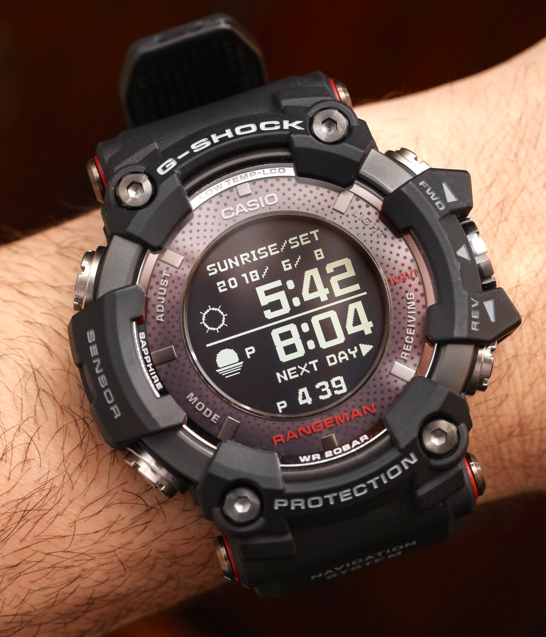 casio g shock rangeman gprb1000 1 gps watch review. Black Bedroom Furniture Sets. Home Design Ideas