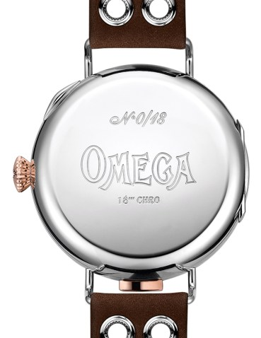 First Omega Wrist-Chronograph Limited Edition With Vintage 1913 Restored Calibre 18''' CHRO Movement Watch Releases