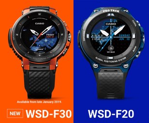 Casio Protrek Smart WSD-F30 Watch Now Has More Wearable Size & Improved Battery Life Watch Releases