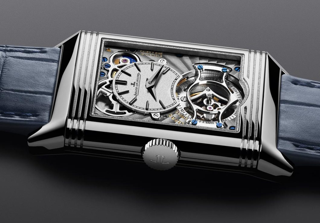 Jaeger-LeCoultre Reverso Tribute Tourbillon Duoface Is The First Of Its Kind Watch Releases