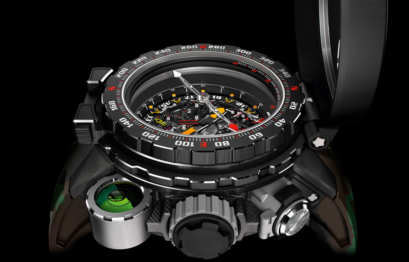 Richard mille 39 s new million dollar rm 25 01 tourbillon adventure watch for sylvester stallone for Adventure watches