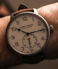 Ulysse Nardin Marine Torpilleur Military Watch Hands-On Hands-On