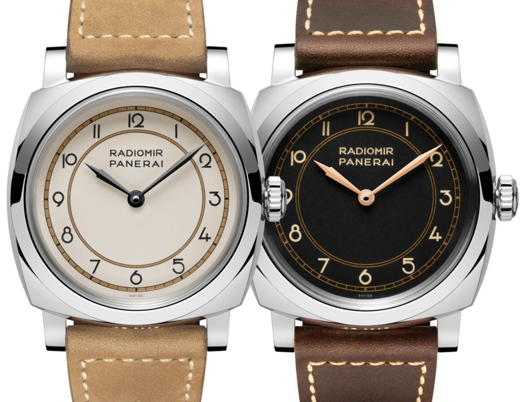 Panerai Radiomir 1940 Art Deco Dial PAM790 & PAM791 Limited Edition Watches Watch Releases