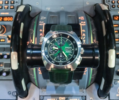 WATCH WINNER REVIEW: Tockr 'Hulk' Air Defender Chronograph Watch Giveaways