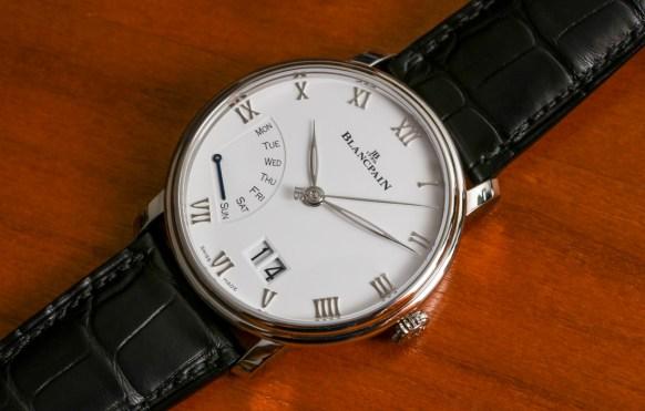Blancpain Villeret Grande Date Jour Rétrograde Watch Hands-On Hands-On