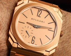 Bulgari Octo Finissimo Automatic Gold Watch Hands-On Hands-On