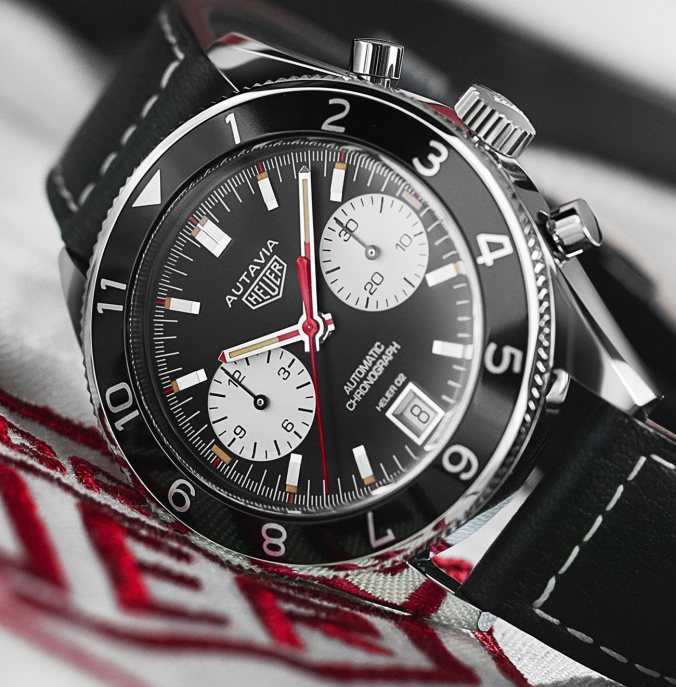 TAG Heuer Heritage Calibre Heuer 02 1972 Autavia Viceroy Re-Edition Watch Watch Releases