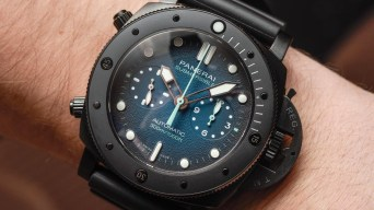 Panerai Submersible PAM983, PAM985 & PAM961 Experience Watches Hands-On Hands-On