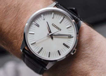 Citizen Caliber 0100 Watch With One-Second-Per-Year Accuracy Hands-On Citizen Hands-On