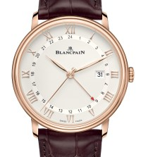 Blancpain Villeret GMT Date Watch Offers Multiple Functions In A Pared-Back Package Watch Releases