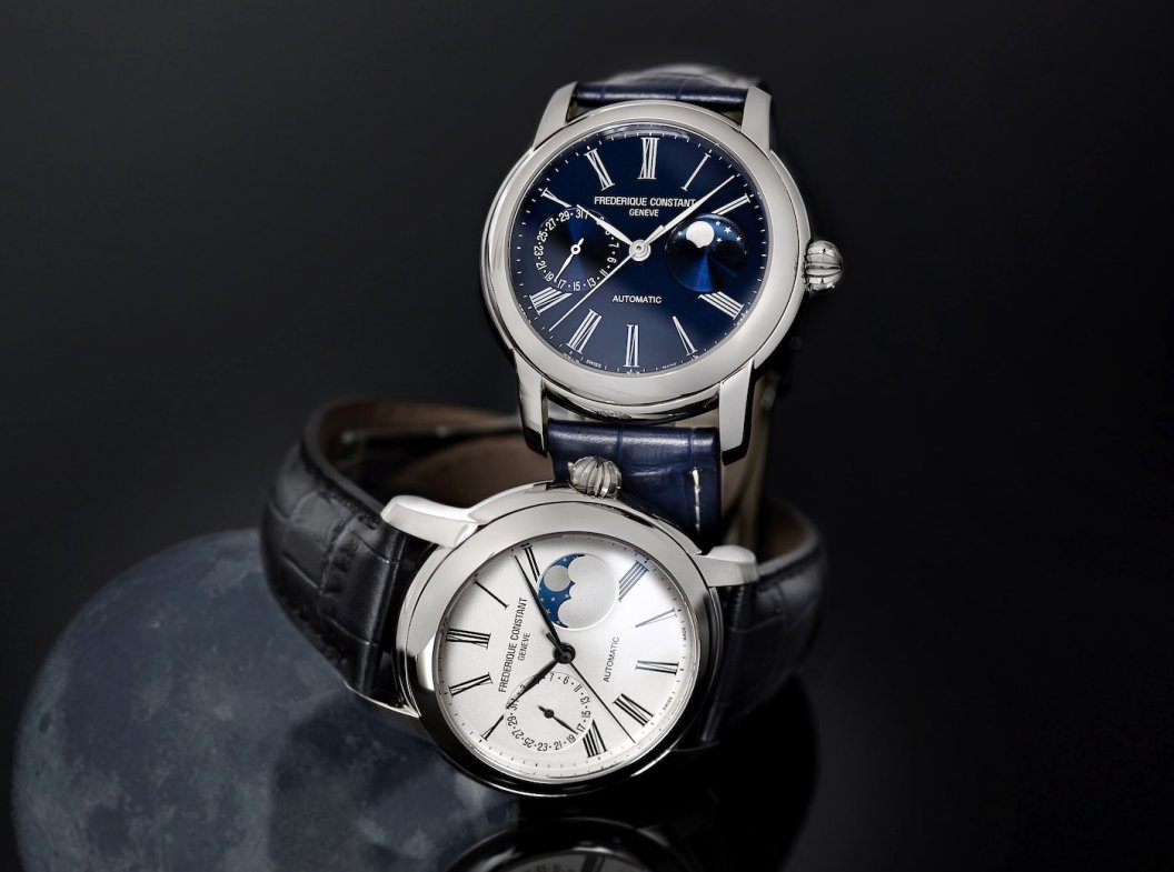 Frederique Constant Classics Moonphase Manufacture Watch Watch Releases