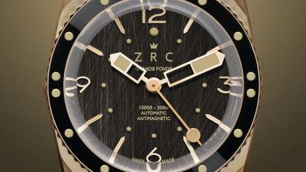 ZRC Grands Fonds Vintage 1964 Spirit Bronze Watch Watch Releases