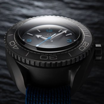 The Omega Seamaster Planet Ocean Ultra Deep Professional Watch At Record Depths In The Mariana Trench Omega Seamaster