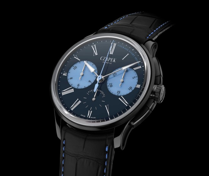 Czapek & Cie Supports Only Watch With A Unique Onyx And Chalcedony Chronograph Watch Sales & Auctions Watch Releases