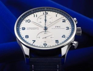 IWC Schaffhausen Portugieser Chronograph Watch Joins Bucherer Blue Series Watch Releases