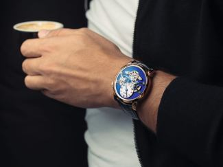 MB&F Legacy Machine No.2 Red Gold Blue Watch Will Be Last Ever In Red Gold First Look
