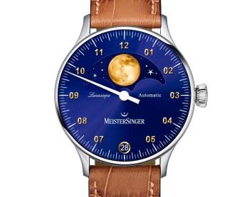 MeisterSinger Lunascope Gold Watch Watch Releases