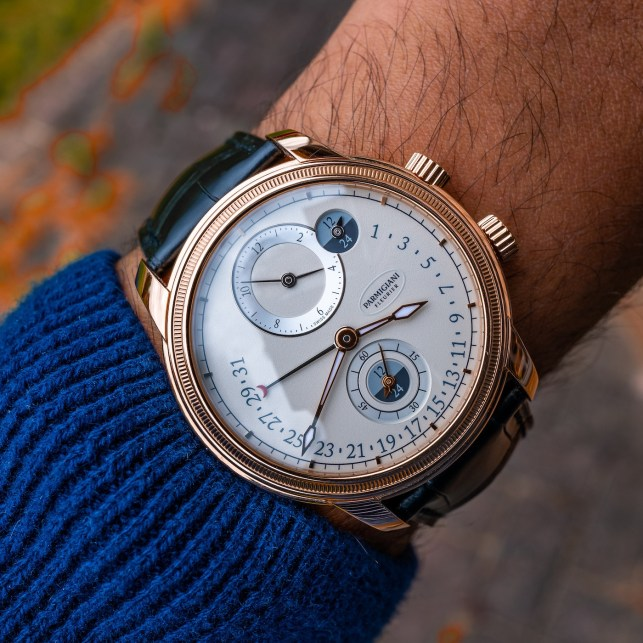 Parmigiani Fleurier Toric Hémisphères Rétrograde Watch Hands-On Hands-On