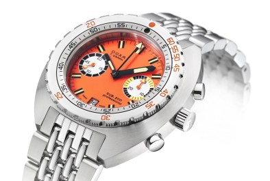 Doxa SUB 200 T.Graph Watch In Stainless Steel Watch Releases