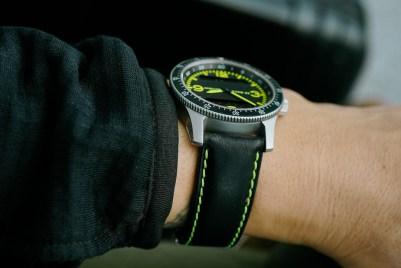 Dodane Type 23 BNL Fighter Pilot's Watch Hands-On Hands-On