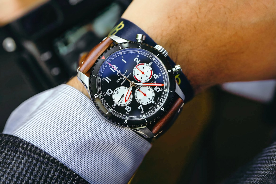 Breitling Aviator 8 Mosquito Chronograph Watch Hands-On Debut ...