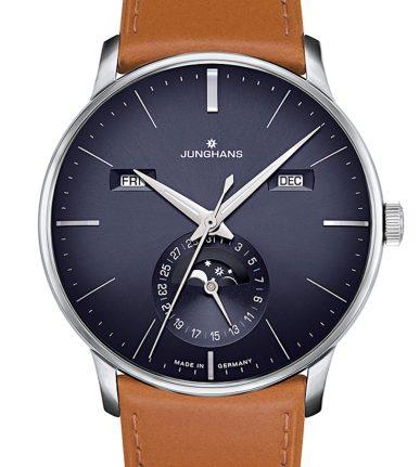 Junghans Meister Kalendar Watch In Blue Watch Releases