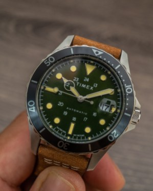 Hands-On Debut: Timex Navi XL Automatic Watch Hands-On
