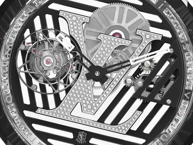 The Louis Vuitton Tambour Curve Flying Tourbillon Is A €280,000 Watch Novelty For 2020 Watch Releases