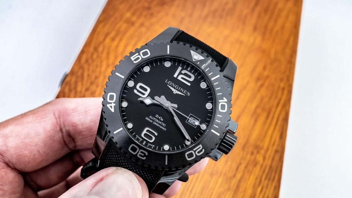 Hands-On: Longines HydroConquest All-Black Ceramic Watch