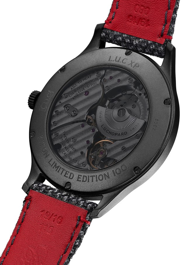 Chopard Unveils Limited Edition L.U.C XP II Sarto Kiton Watch Releases