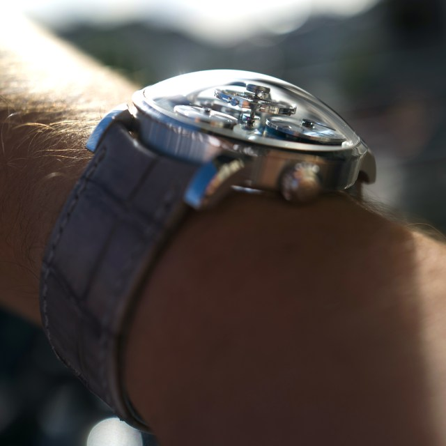 MB&F LM101 Watch In Platinum – #33/33 Available Online From MB&F Sponsored post