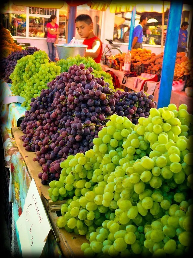 bbbb-1 Sighisoara's Daily Market - Sighisoara, Romania Romania Sighisoara  Vegetarian Sighisoara Romania Markets Food