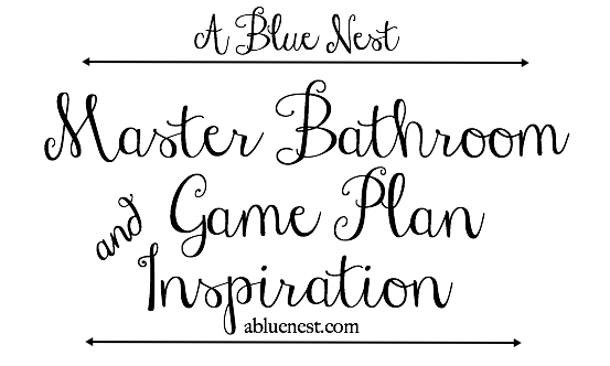 bathroom plan - A Blue Nest