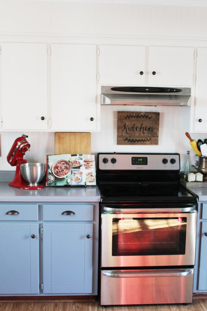 Painted Countertops | A Blue Nest